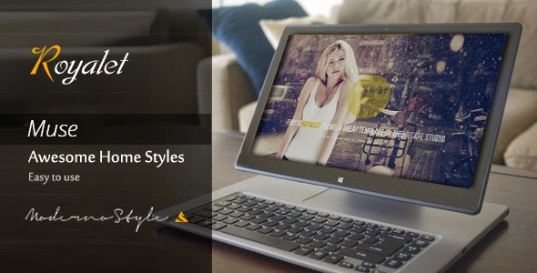 themeforest Responsive Muse Template