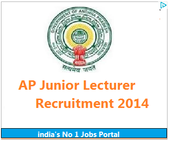 APPSC Latest Government Jobs 2014 for Junior Lecturer in AP