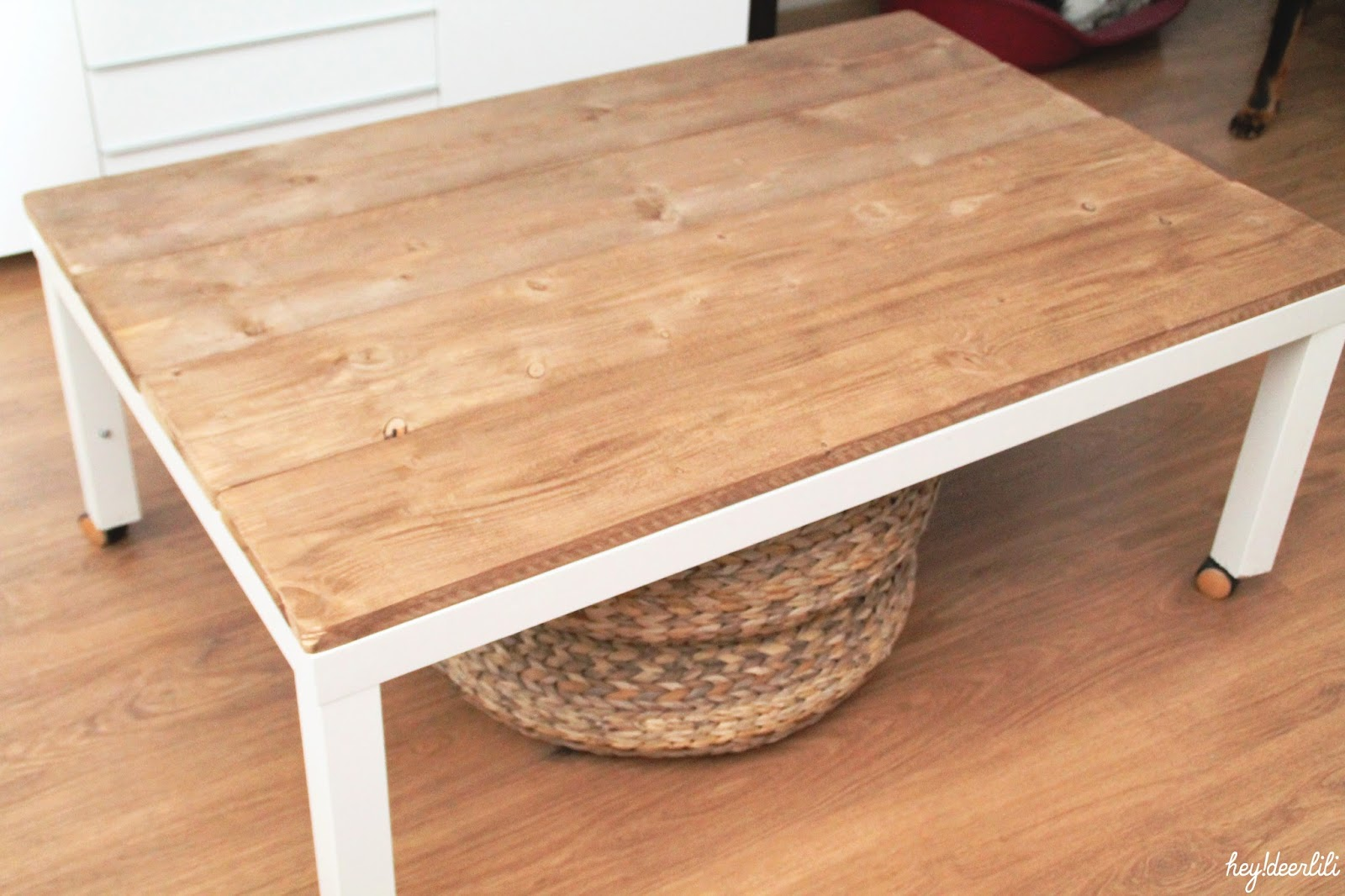 Hey! Deer Lili Retaper un basique La table basse Ikea ~ Customiser Table Basse En Bois