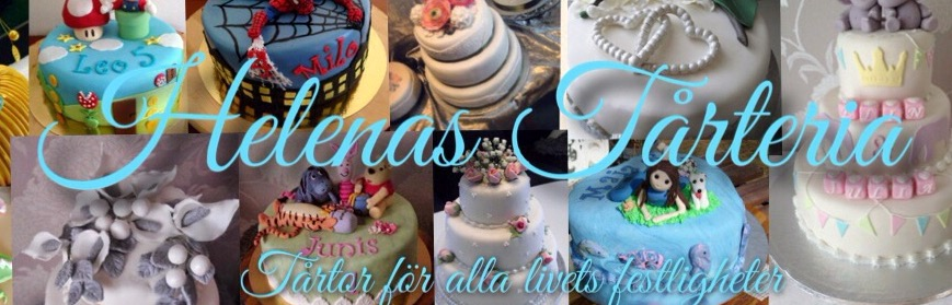Helenas Tårteria- Personliga tårtor i Göteborg