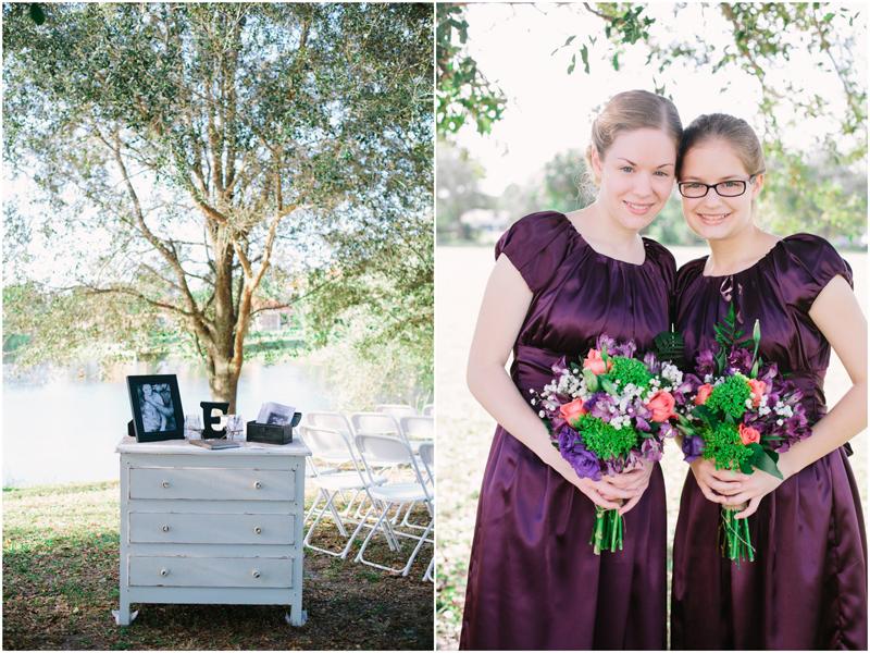 palm beach gardens florida purple wedding photography