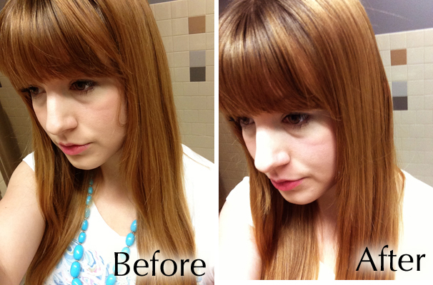 Before and after pictures macadamia oil hair