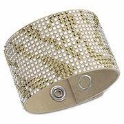 (c) Swarovski slake bracelets