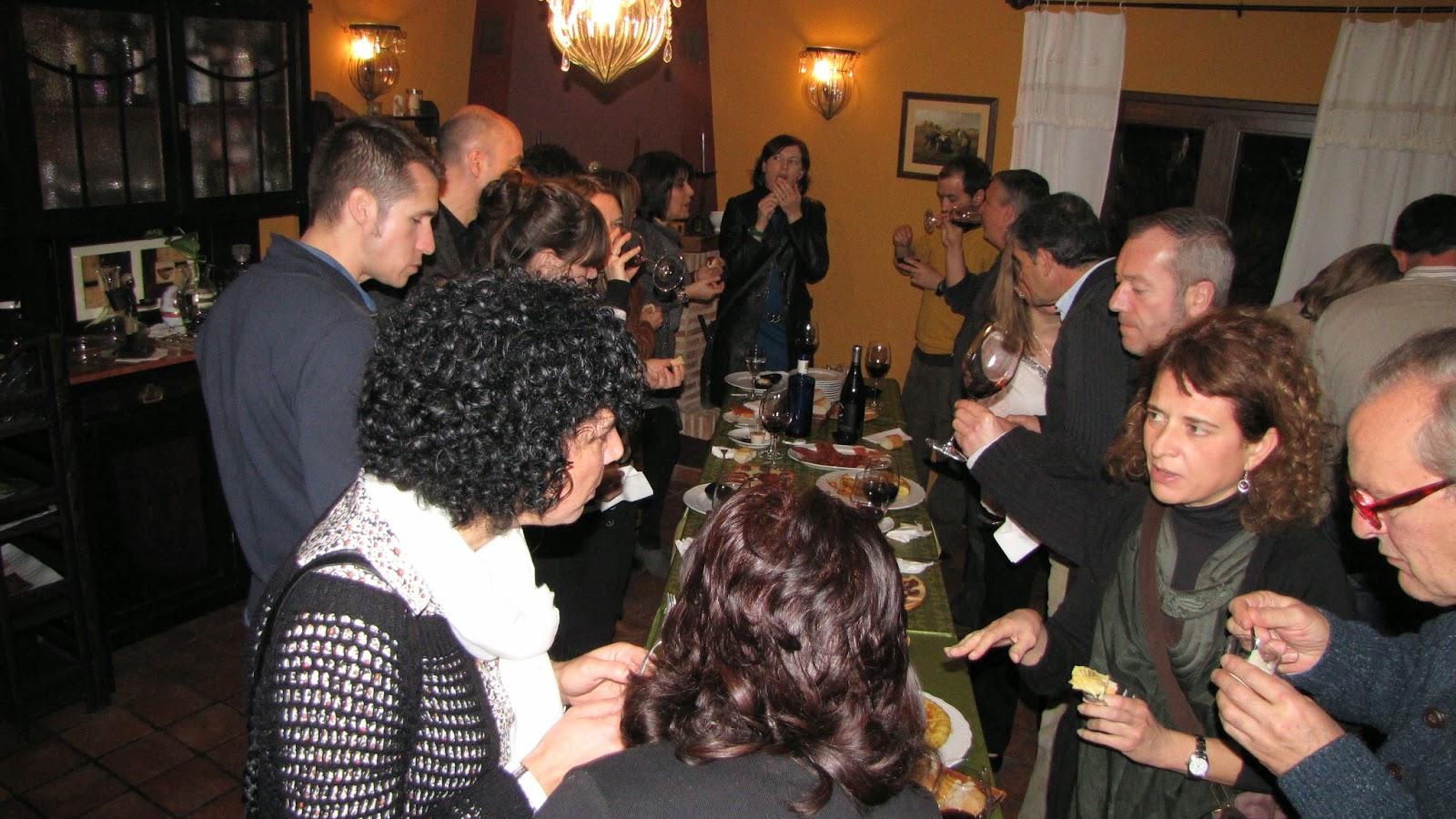 cata de vinos con bodega calzadilla en hospederia ballesteros, cuenca