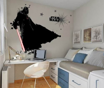 Decora la pared con vinilos Star Wars
