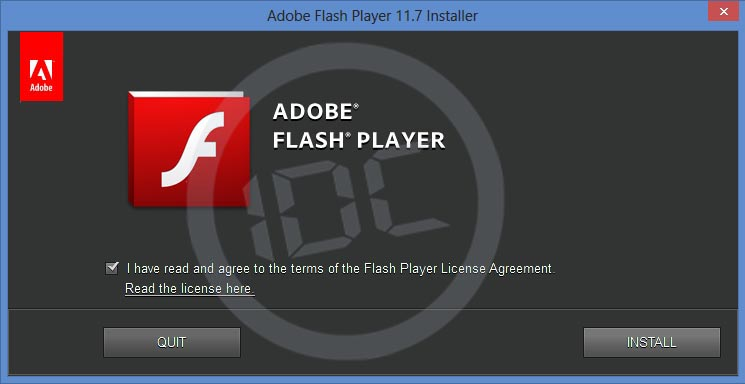 flash player offline install