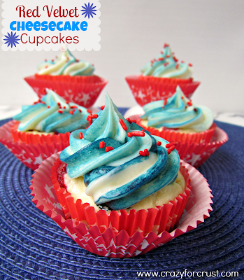 Recipe: Red velvet cheesecake cupcakes