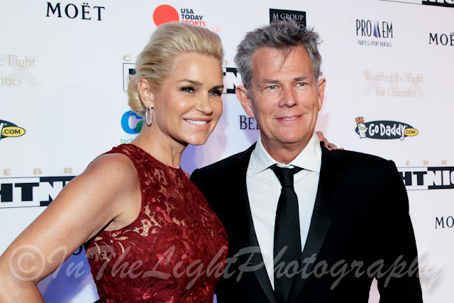 Celebrity Fight Night 2013 Red Carpet Yolanda Foster David Foster