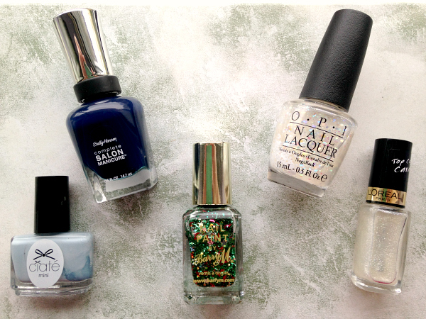 Wintery Nail Polishes