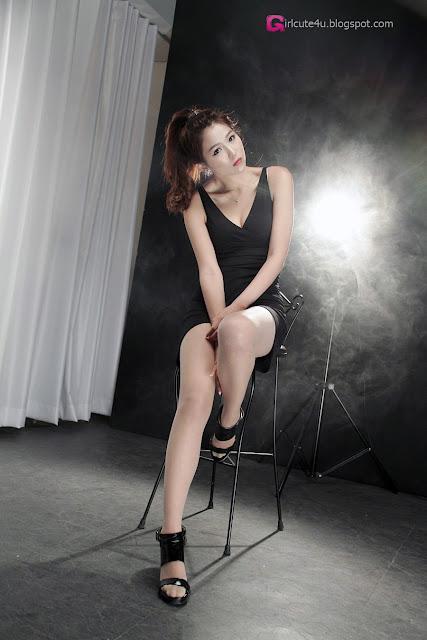 4 Wow - Lee Eun Hye in Black-very cute asian girl-girlcute4u.blogspot.com