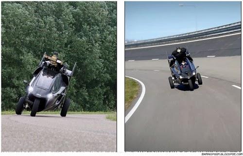 PAL V Motorsikal Terbang Yang Pertama di Dunia