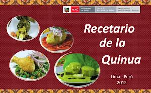 Recetario de Quinua - El Gobierno