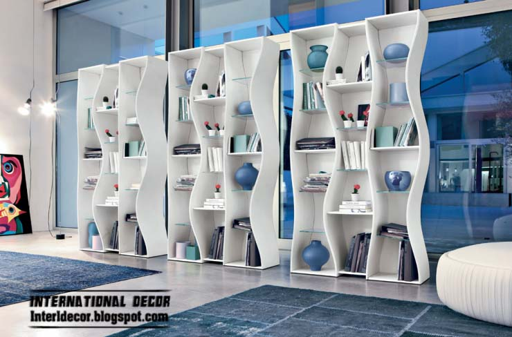 Modern Bookshelf Design Idea