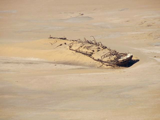 The most famous ship in the desert