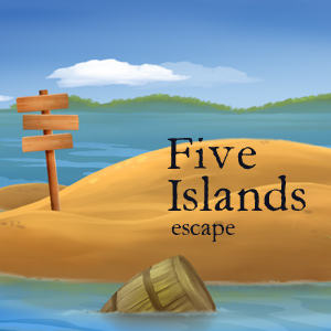 Juegos de Escape Five Islands Escape