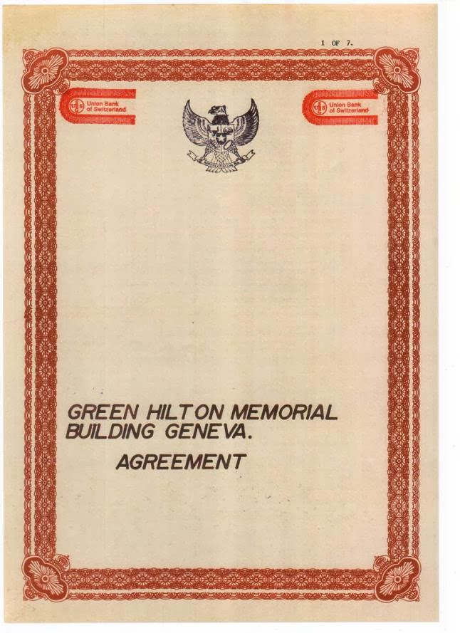 Green Hilton Memorial Agreement Geneva