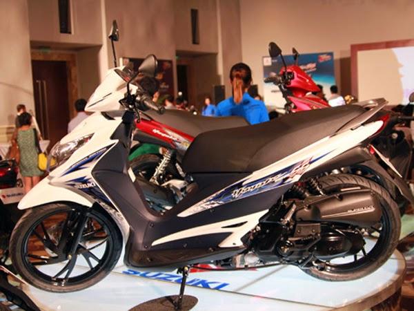 Xe tay ga Suzuki HAYATE (25 triệu => 30 triệu đồng )