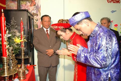 A wedding in Vietnam