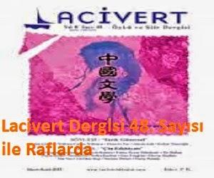 Lacivert Dergisi 48. Sayısı ile Raflarda