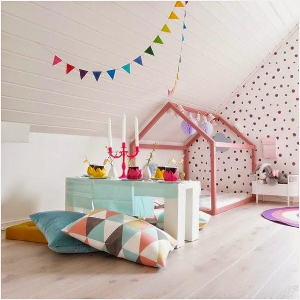 decoracao alternativa e barata para quarto: : Quarto Infantil – Casa Cafeína