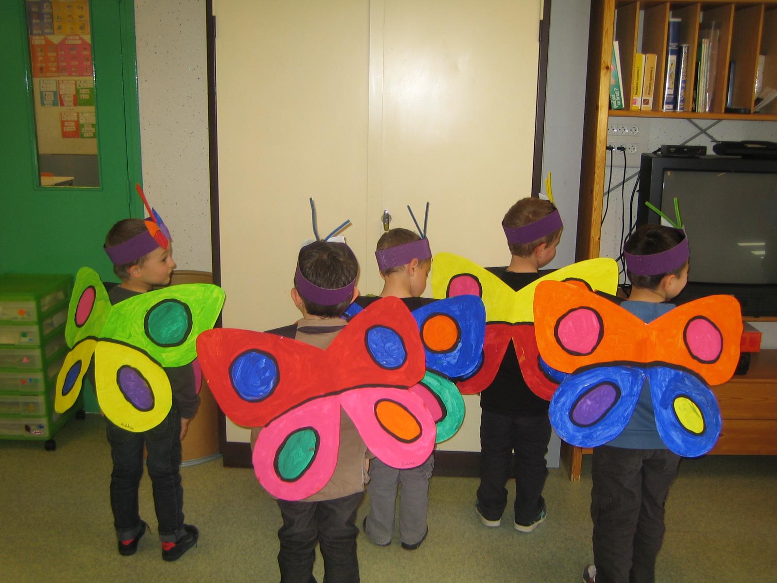 Les petites nouvelles de la classe maternelle avril 2012 - Papillon maternelle ...
