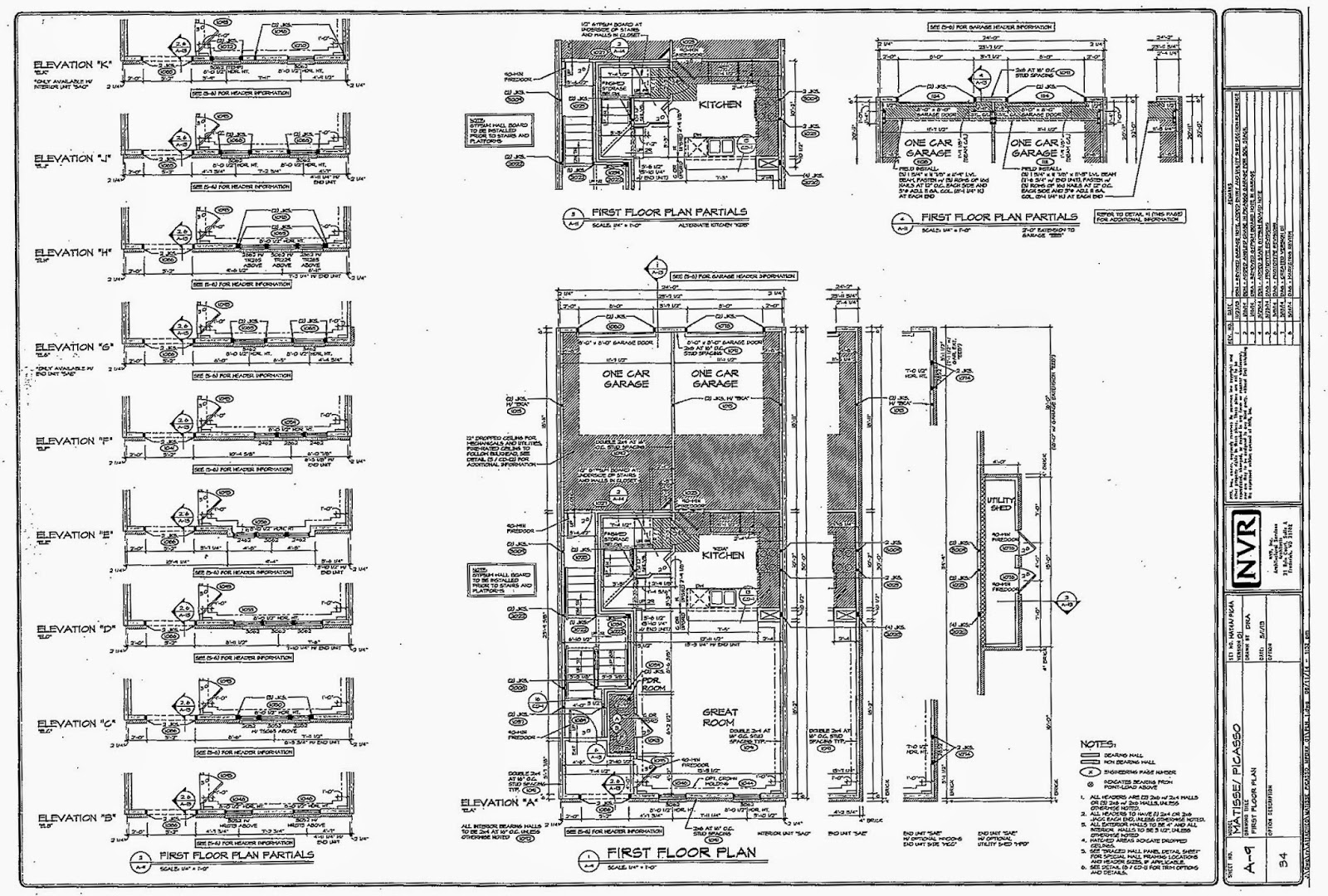 matisse floor  electrical  and architectural plans