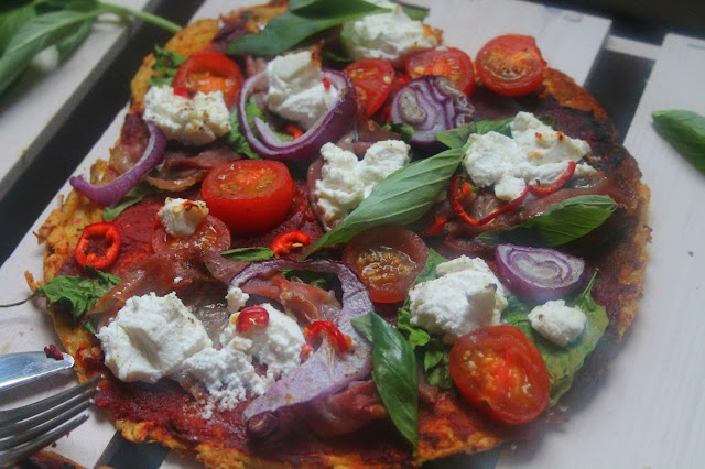 Socca Pizza recipe