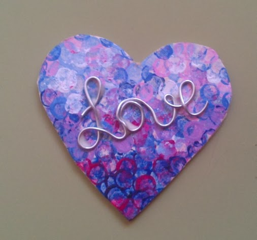 Crgc DIY Love heart