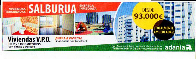Publicidad de parques infantiles en Larrein