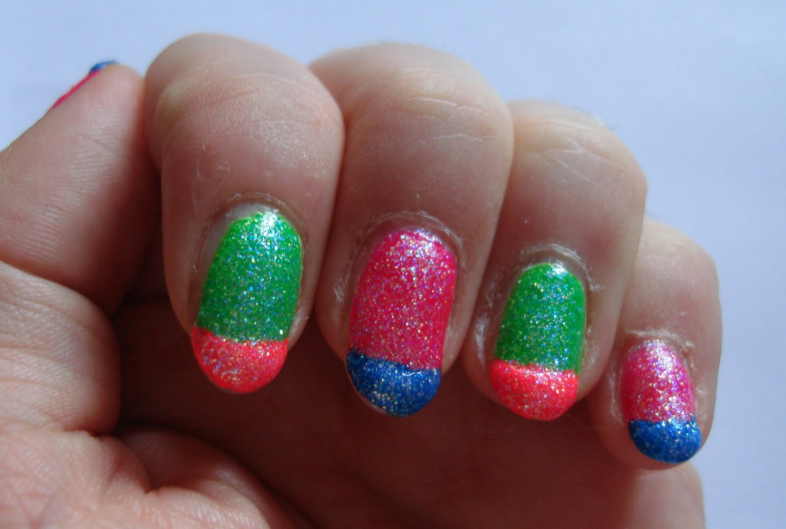 Funny Face\'s place: Neon Nails