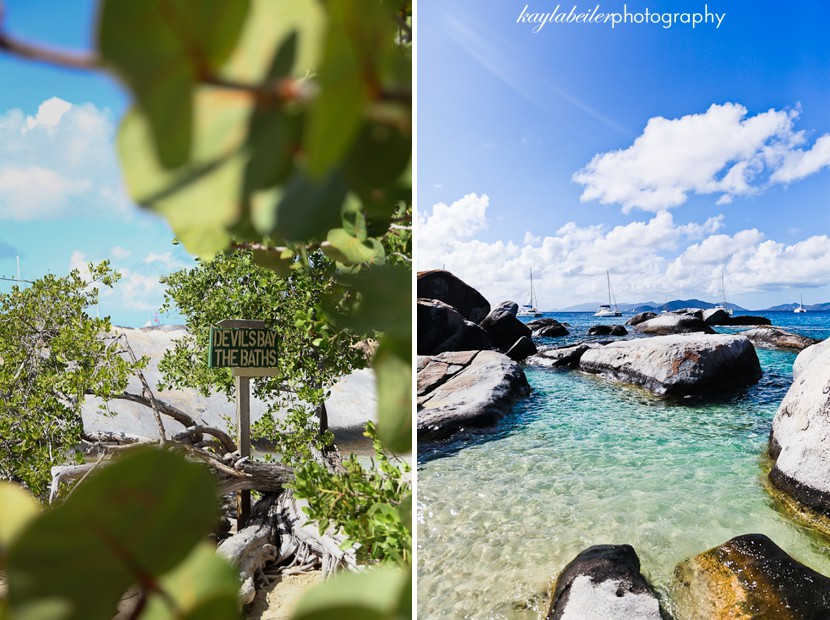 the baths virgin gorda photo