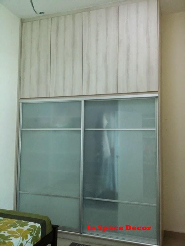 Sliding Wardrobe install at Taman Puncak Bukit Utama Ampang