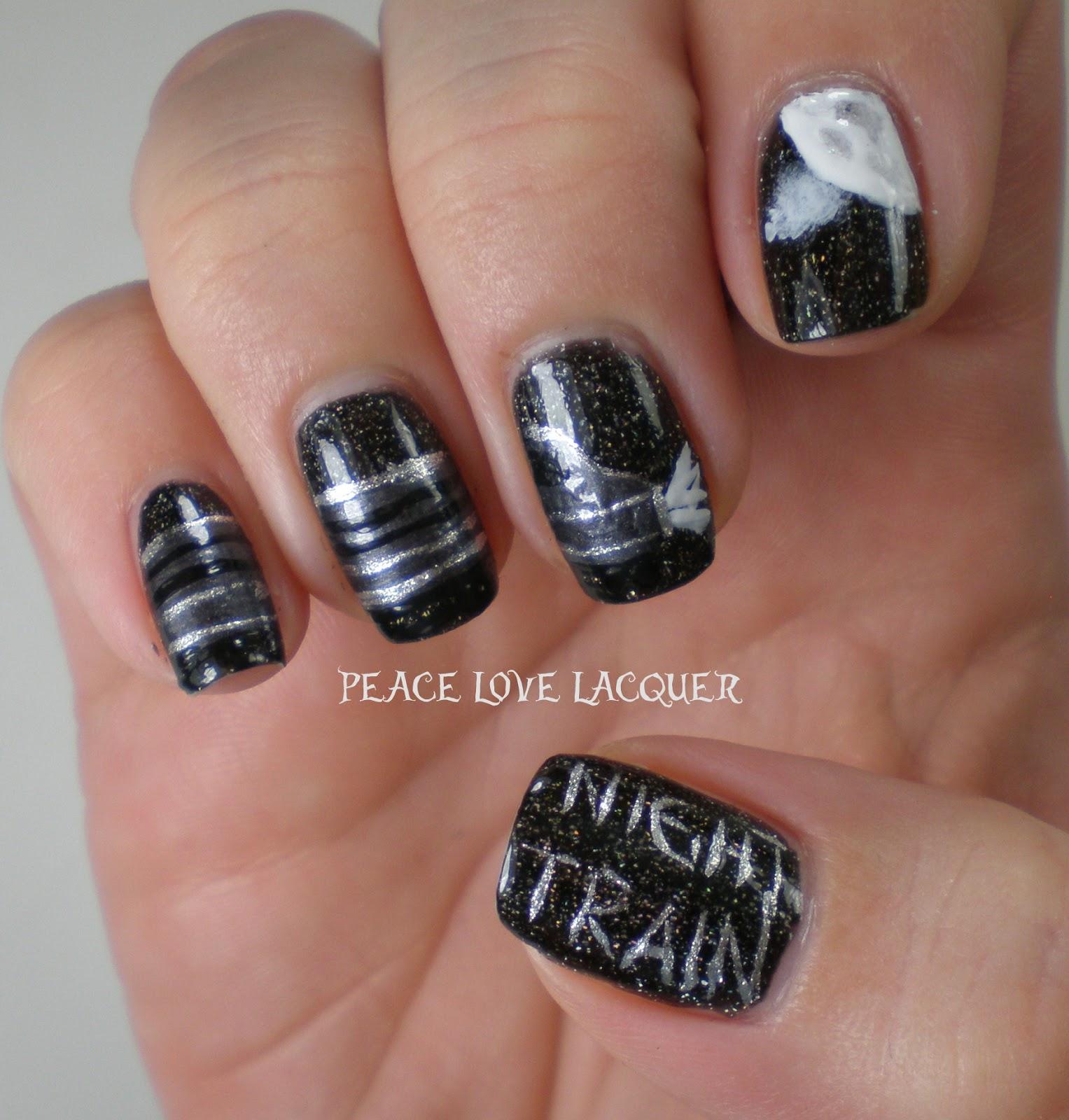 Peace Love Lacquer: I Love Jason Aldean!!! Nail Art