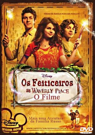 Filme Os Feiticeiros De Waverly Place O Filme Dublado AVI DVDRip