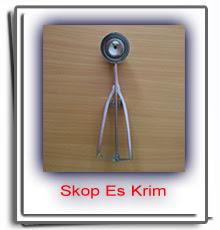 Order Skop Es Krim Stainless