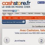 Cashback: gagner de l'argent sur internet avec Cashstore