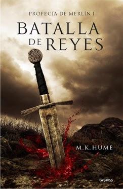 "Portada ""Batalla de Reyes"" M.K. Hume"