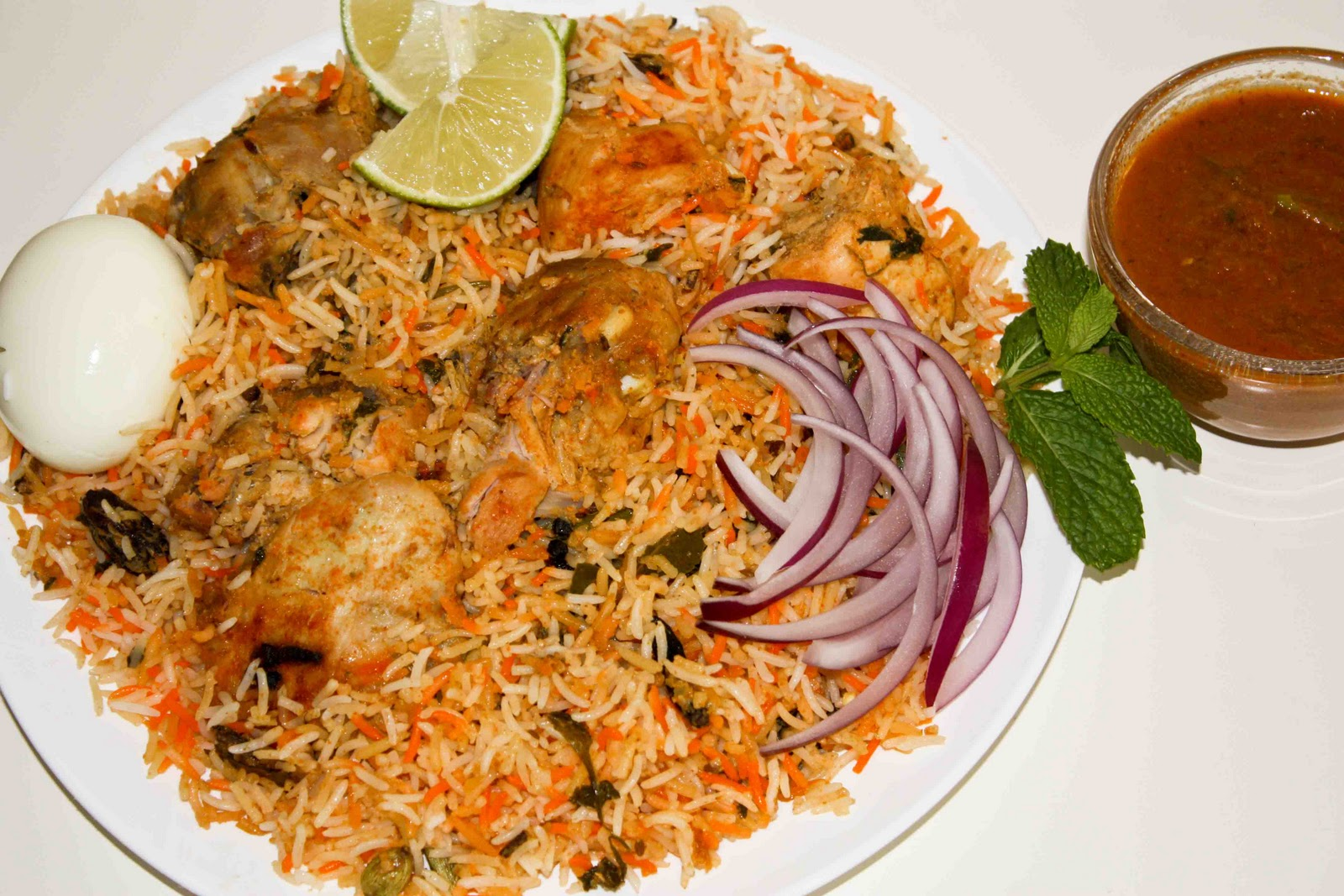 chicken biryani A standard in indian cuisine, biryani gets plenty of flavor and fragrance from the spice mix, which typically includes turmeric, cardamom.