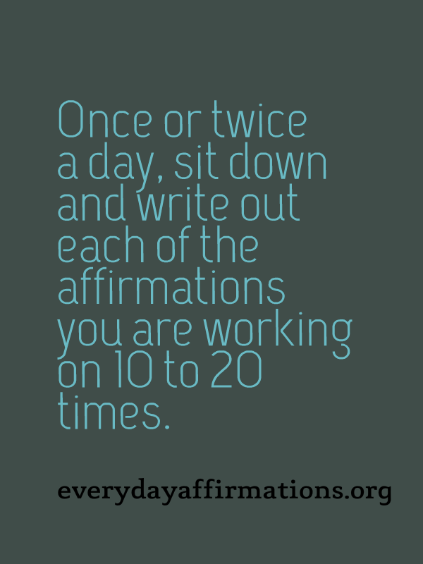 Tips to Make your Affirmations Work, Daily Affirmations 2014, Daily Affirmations