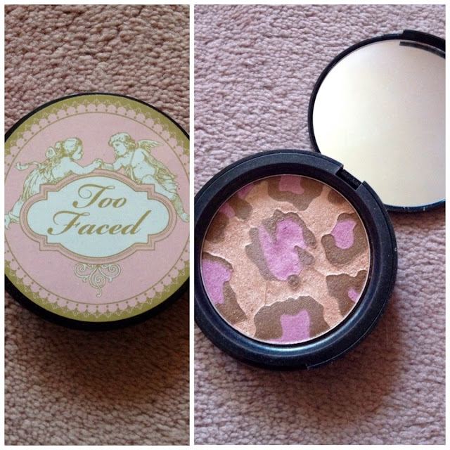 Too Faced Pink Leopard Bronzer