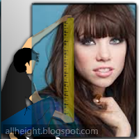 What is the height of Carly Rae Jepsen?