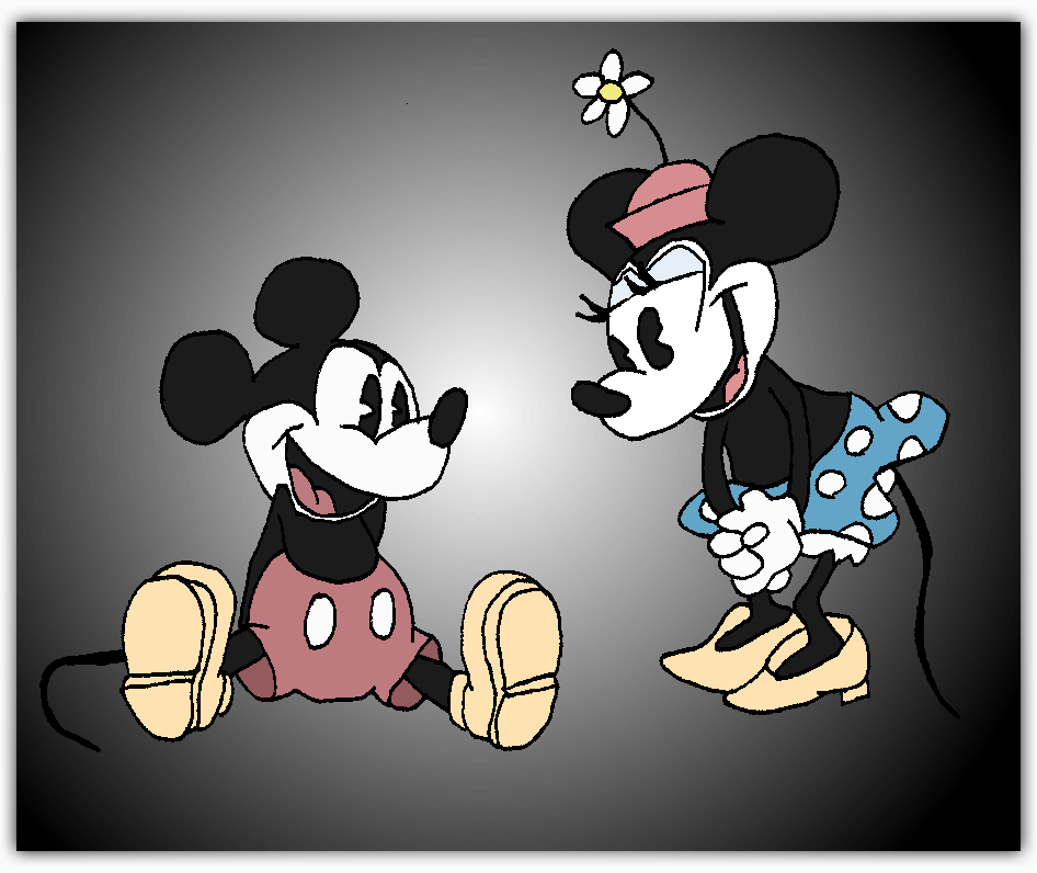 Magik 39 s kh verse october 2012 - Mickey mouse minnie cienta ...