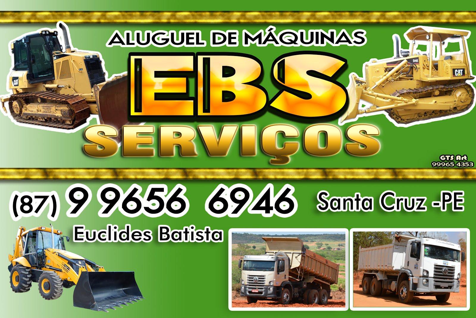 EBS - ALUGUEM DE MAQUINAS E SERVIÇOS