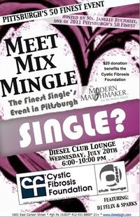 Meet Mix Mingle, Single's Event in Pittsburgh, 50 Finest, Cystic Fibrosis