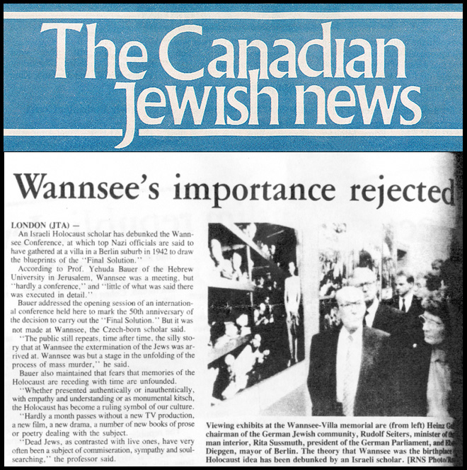 the wannsee conference essay
