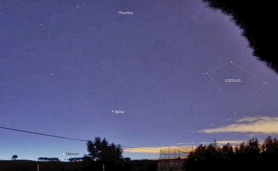 Lihat Kenampakan Planet Merkurius di Jum'at Pagi