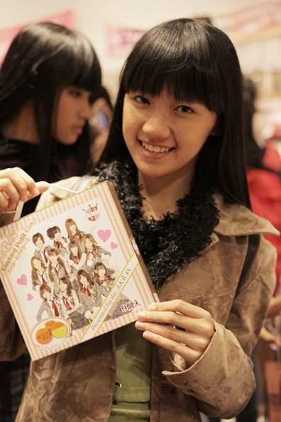 Cindy JKT48 saat di jepang