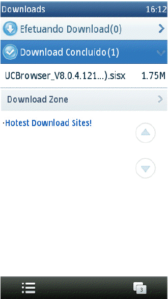 UC Browser - gerenciador de download