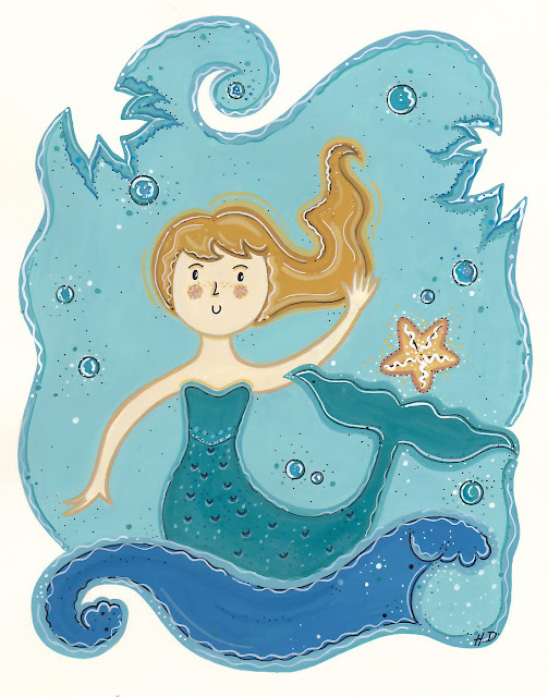 Mermaid © Holly DeWolf. All Rights Reserved!