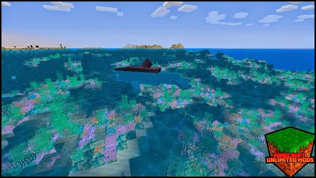 Coral Reef Mod tiburón